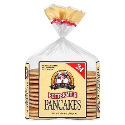 De Wafelbakkers Frozen Buttermilk Pancaes - 33.6oz/25pk