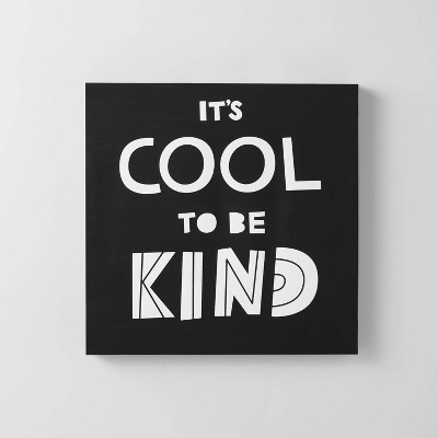 It's Cool to be Kind Wall Art - Pillowfort™