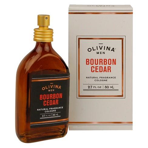 11766d943 Olivina Men Bourbon Cedar Natural Fragrance Cologne - 2.7oz   Target