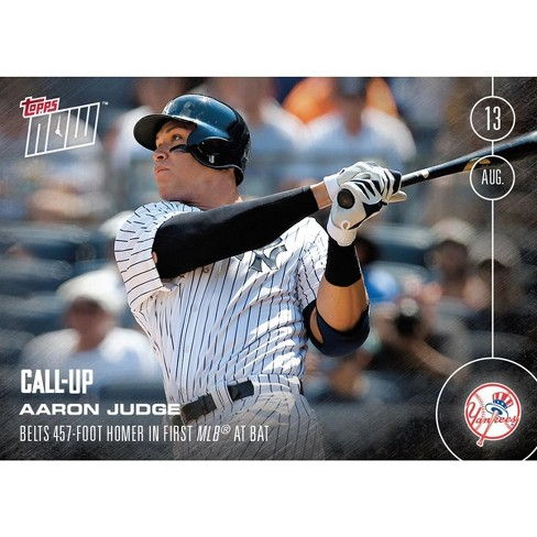 Ny Yankees Aaron Judge Call Up Mlb Topps Now Card 353