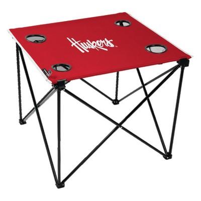 NCAA Nebraska Cornhuskers Portable Table
