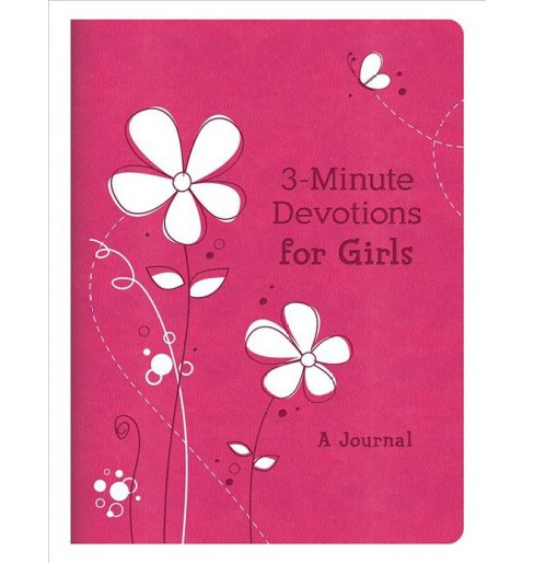 3-minute Devotions for Girls : A Journal -  by Janice Thompson (Paperback) - image 1 of 1