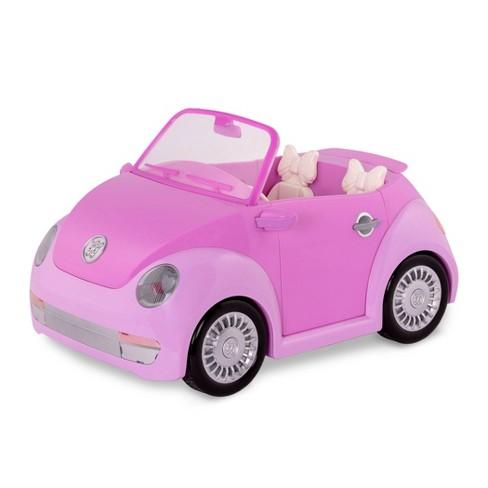 Glitter Girls Convertible Car - Purple - image 1 of 4