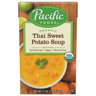 Pacific Foods Organic Thai Sweet Potato Soup - 17oz