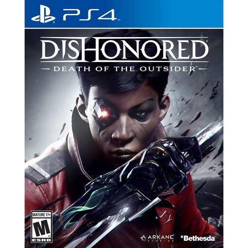 Dishonored The Death Of Outsider PlayStation 4