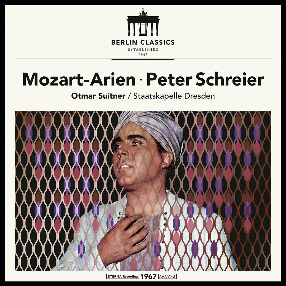 Peter Schreier - Mozart:Opera Arias (Vinyl)