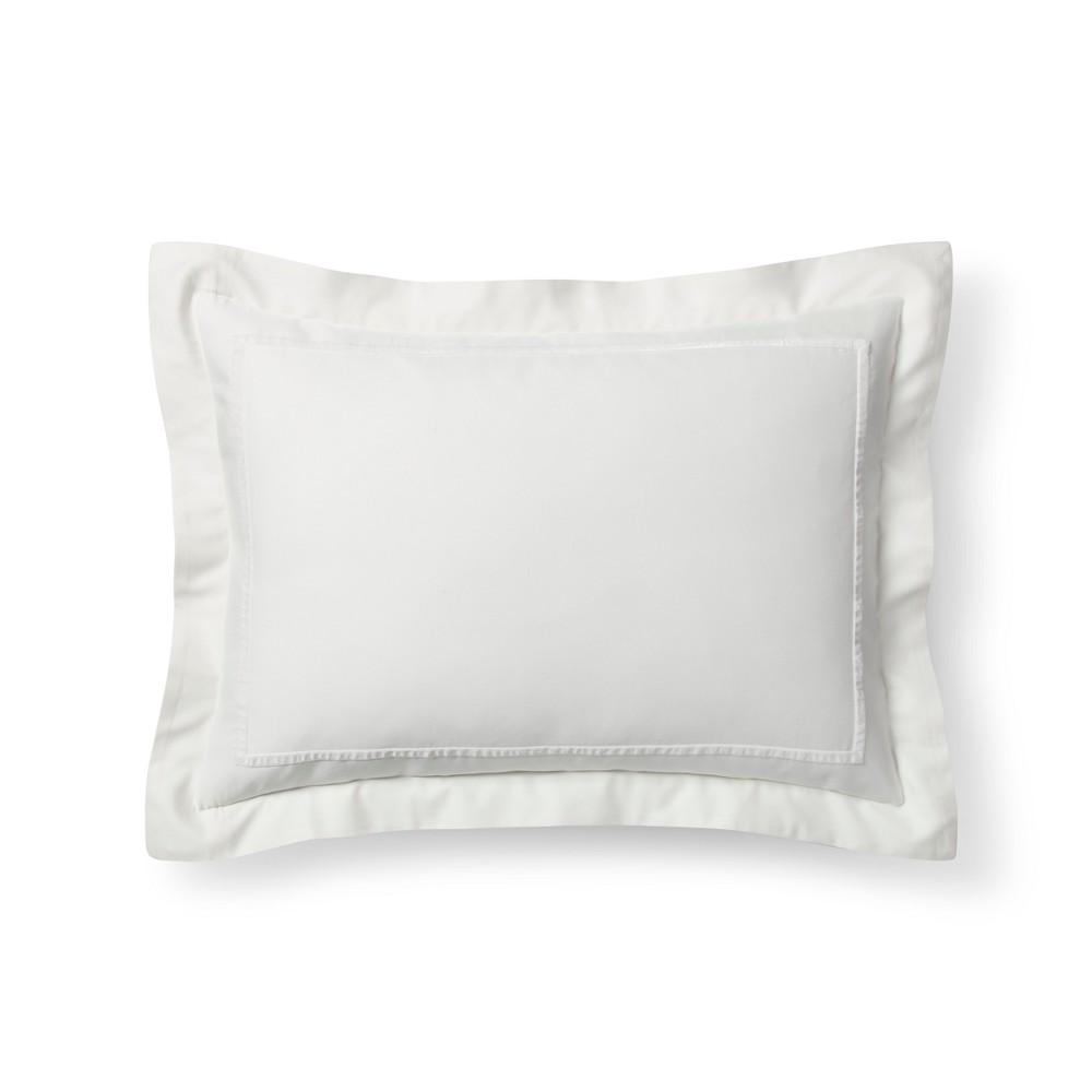 Sour Cream Ivory Tencel Pillow Sham King Fieldcrest