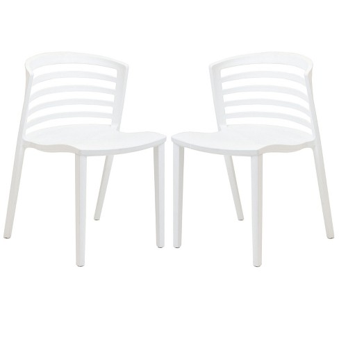 Curvy Dining Chairs Set of 2 - Modway - image 1 of 5