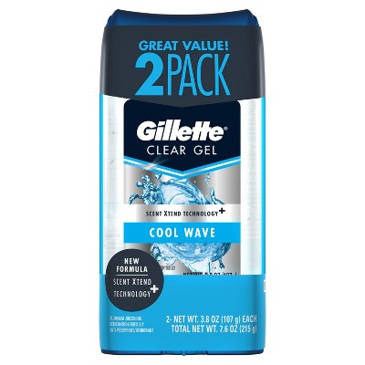 Gillette Clear Gel