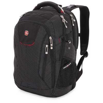 "SWISSGEAR 18.5"" Scan Smart TSA Laptop and USB Power Plug Backpack - Black"