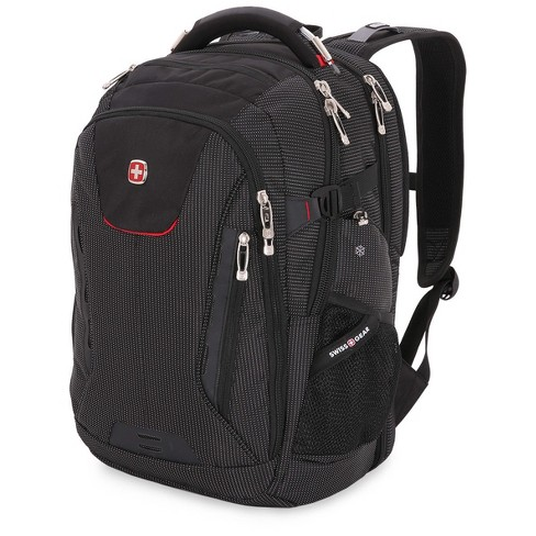 "SWISSGEAR® 18.5"" Scan Smart TSA Laptop and USB Power Plug Backpack - Black - image 1 of 9"