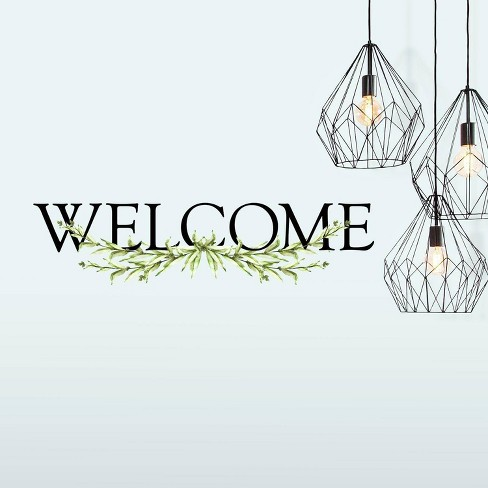 Welcome Quote Peel and Stick Wall Decal - RoomMates - image 1 of 4