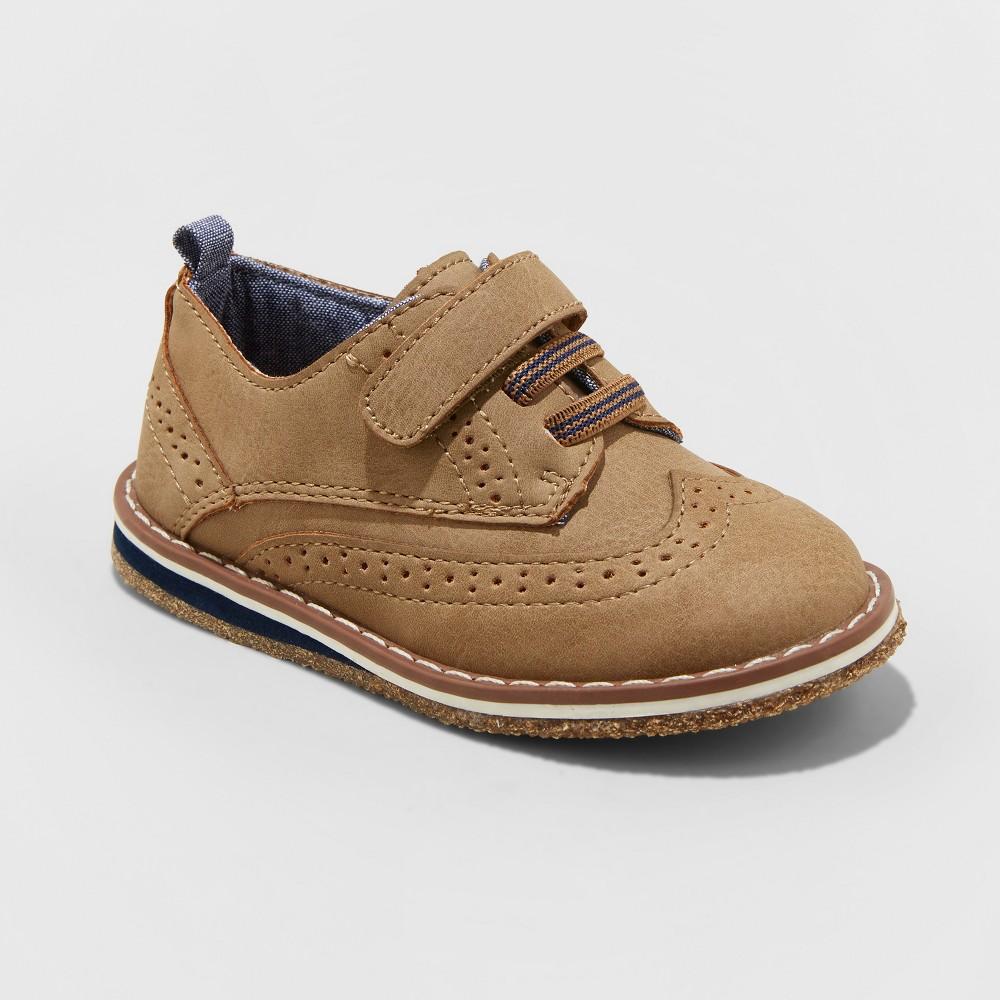 Toddler Boys' Jamir Loafer Shoes - Cat & Jack Tan 12, Brown