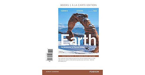 Earth : An Introduction to Physical Geology (Paperback) (Edward J. Tarbuck) - image 1 of 1