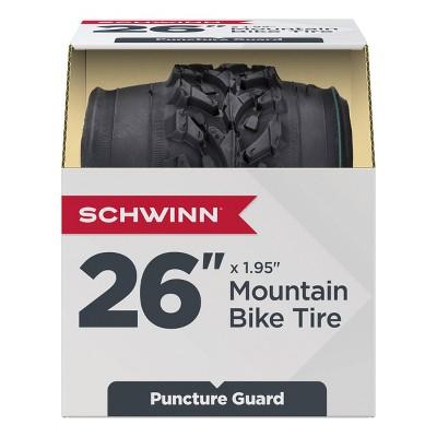 """Schwinn 26"""" Mountain Bike Tire - Black"""