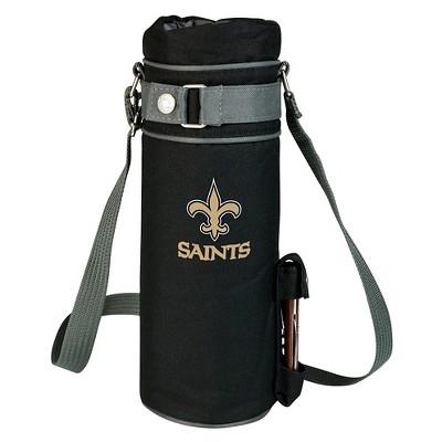 Picnic Time NFL Team Wine Sack Beverage Tote - Black
