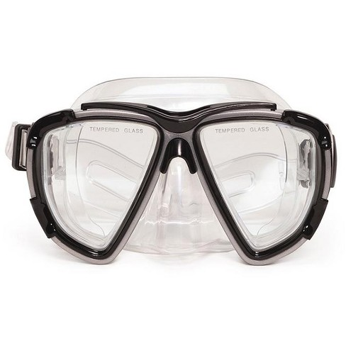 Kona Pro Goggle Mask Swimming Pool Accessory for Teen/Adults 6.5\