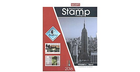 2016 Scott Standard Postage Stamp Catalogue : Countries of the World;  San-Z (Paperback) - image 1 of 1