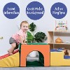 ECR4Kids Softzone Tunnel Foam Climber-Indoor Active Play Structure for Toddlers and Kids - image 3 of 4