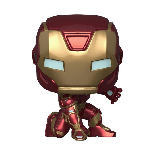 Funko POP! Marvel: Avengers Game - Iron Man (Stark Stealth Suit) image number null