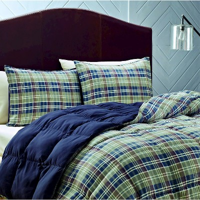 Rugged Plaid Comforter Set