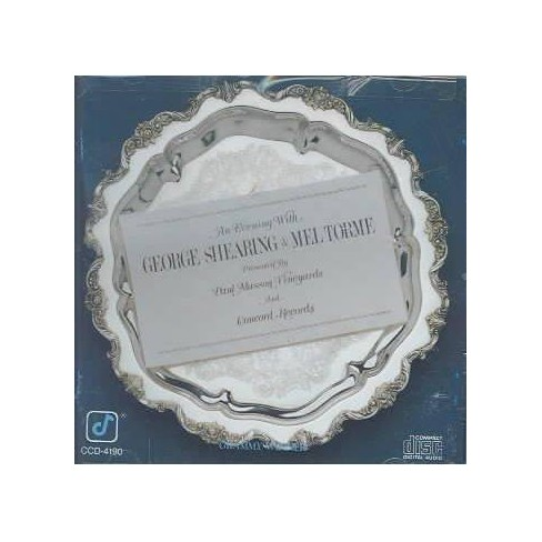 George Shearing - Evening with George Shearing & Mel Torme (CD) - image 1 of 1
