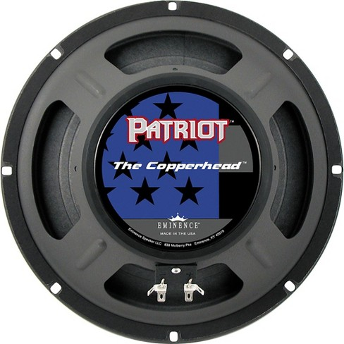 """Eminence Patriot The Copperhead 10"""" 75W Guitar Speaker 10 in. - image 1 of 3"""