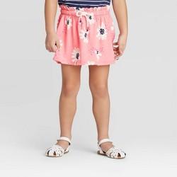Toddler Girls' Floral Knit Skort - Cat & Jack™ Pink