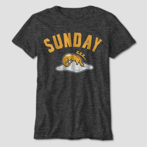 Boys' Gudetama Sunday Short Sleeve Graphic T-Shirt - Charcoal Heather - image 1 of 1