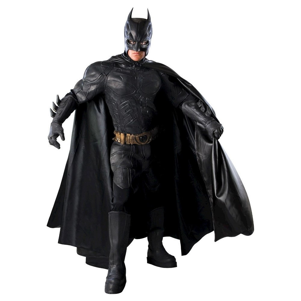DC Comics Men's Batman Dark Knight Costume Medium, Black