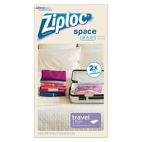 Ziploc 3 Pack Travel Bags Target