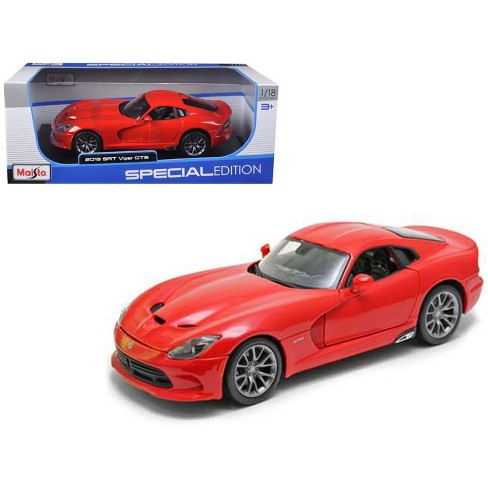 2013 Dodge Viper GTS SRT Red 1/18 Diecast Model Car by Maisto - image 1 of 1