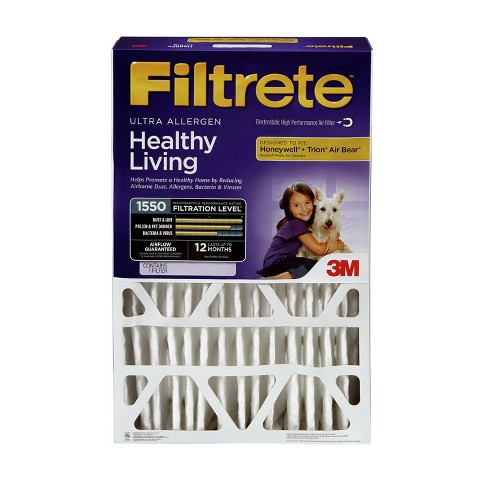 Filtrete Ultra Allergen 20x20x4, Air Filter - image 1 of 1