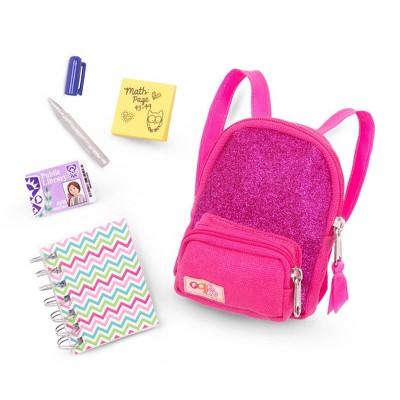 "Our Generation School Bag Accessory Set for 18"" Dolls - School Smarts"