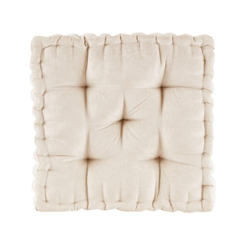 Diah Chenille Square Floor Pillow Cushion - image 1 of 6
