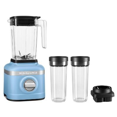 KitchenAid 3-Speed Blender with 2 Personal Blender Jars - Blue