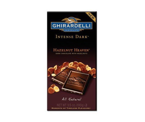 Ghirardelli Intense Dark Hazelnut Heaven Chocolate - 3.5oz - image 1 of 1