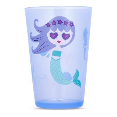 Cheeky Plastic Kids Tumbler 8.5oz Mermaid - Purple