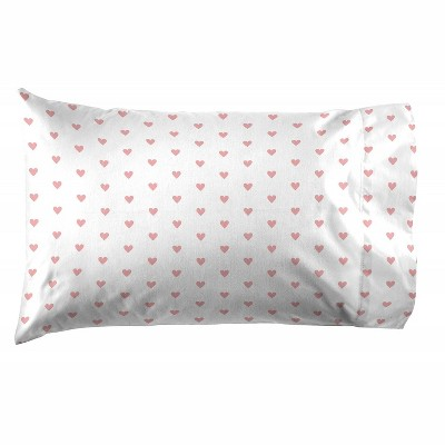 Saturday Park Hearts Pillow Case