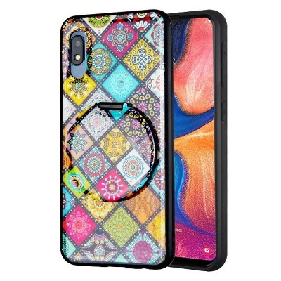 MYBAT Mirror Hybrid Mediterranean Hard Dual Layer Plastic TPU Case For Samsung Galaxy - Multi-Color