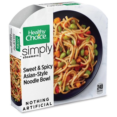 Healthy Choice Simply Organic Frozen Sweet & Spicy Asian Noodle Bowl - 9oz