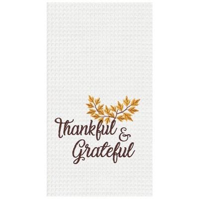 C&F Home Thankful & Grateful Kitchen Towel