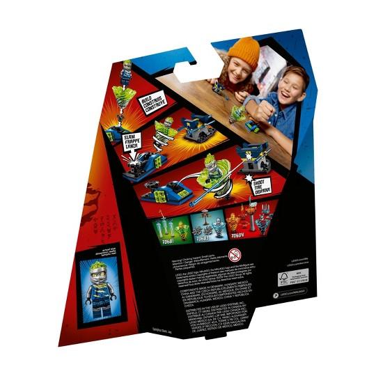 LEGO Ninjago Spinjitzu Slam - Jay 70682 Tornado Spinner Toy Building Set with Launcher 72pc image number null