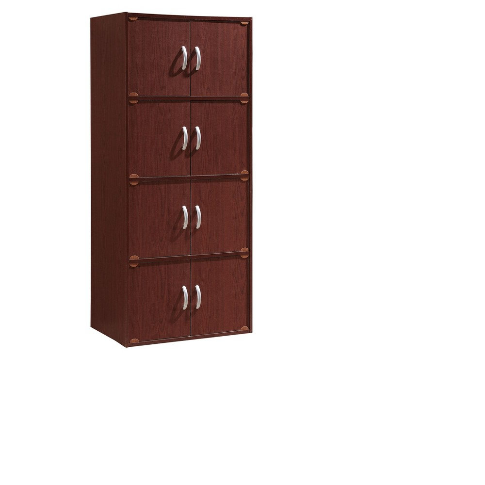 Cabinet Mahogany (Brown) - Hodedah Import