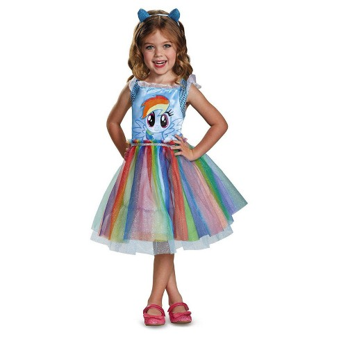db77487af Girls  My Little Pony Rainbow Dash Classic Toddler Costume   Target