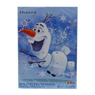 Disney Frozen 2 Vertical Advent Calendar with Chocolate - 1.76oz