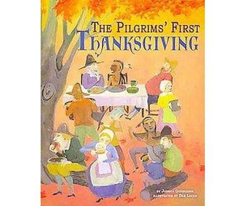 Pilgrims' First Thanksgiving (Paperback) (Jessica Gunderson) - image 1 of 1
