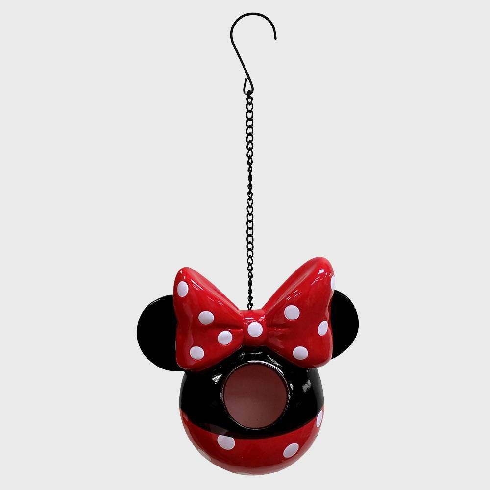 """Image of """"Disney 7"""""""" Minnie Mouse Hanging Resin Birdhouse"""""""