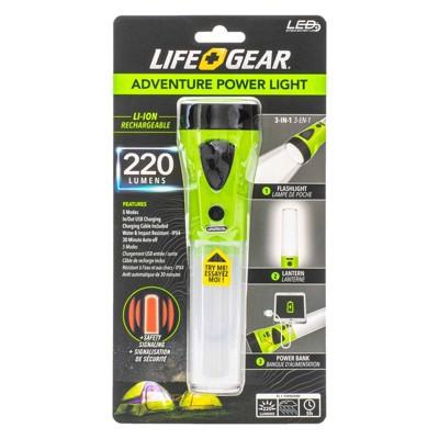 Life Gear Adventure 220 Lumens LED Power Light
