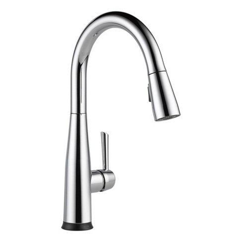 Delta Faucet 9113T-DST Essa Pull-Down Kitchen Faucet with On/Off Touch  Activation and Magnetic Docking Spray Head -